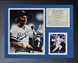 George Brett 11' x 14' Framed Photo Collage by Legends Never Die, Inc. - MVP