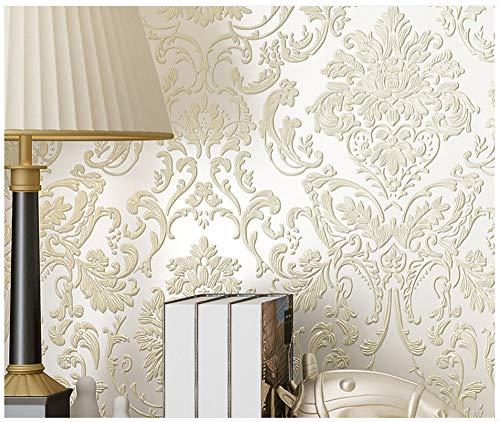 TapeteVlies Moderne Minimalistische Weiße Fein PrägetapeteFür Wohnzimmer Schlafzimmer Home Decoration Papierrolle