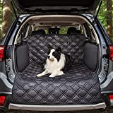 Meadowlark SUV Cargo Liner for Dogs - Car Trunk Cover Pet Cargo Seat Cover Large Premium Non Slip, Extra Padded Anti Shock Dog Cover, Waterproof Mat - Universal, Pets Hair & Bumper Protector for Dog