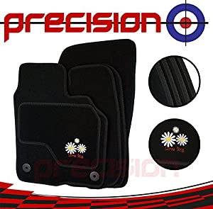 Precision Daisy Logo Fitted Tailored Car Mats FBALM23