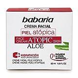 Babaria- Crema facial piel atópica- 50 ml