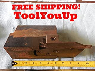LARGE MANCHESTER T 300 15 LH CUT OFF PARTING BLADE TOOL HOLDER 3/8 WIDE BIT TOOL