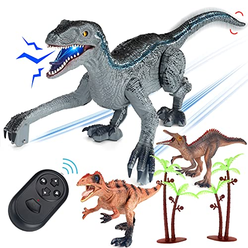 FINGUARD Remote Control Dinosaur,...