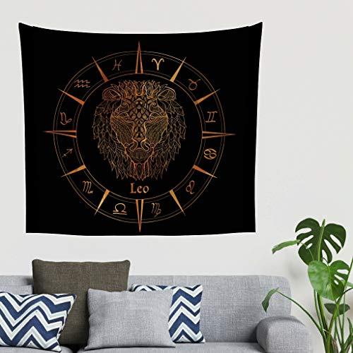 O5KFD & 8 zon & maan thema tapijt mooi oversized bank cover - geheim patroon voor studentenhuisdecoratie