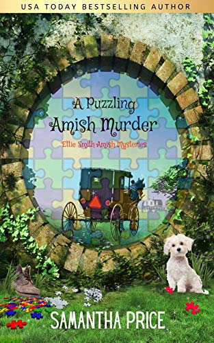 A Puzzling Amish Murder: An Amish Cozy Mystery (Ettie Smith Amish Mysteries Book 23) by [Samantha Price]