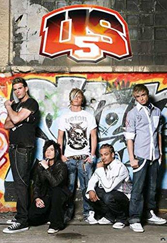 US5 - Poster - Graffiti + Ü-Poster