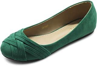 green flats womens