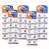 1.5V ag9 Button Cell Battery Replacement Battery for lr936 394 Count Pcs (50)