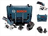Bosch GKS 12V-26 Professional Scie circulaire sans fil 85mm avec boîtier L-Boxx + 1x Batterie GBA 6,0 Ah + Chargeur GAL...