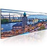 murando - Bilder Hamburg 150x50 cm Vlies Leinwandbild 1 TLG