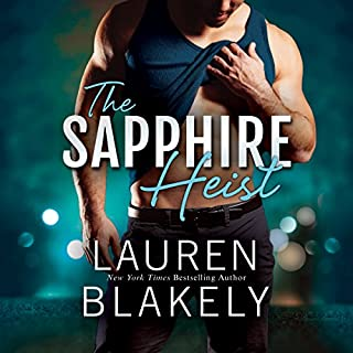 The Sapphire Heist audiobook cover art