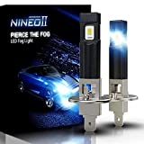 NINEO H1 LED Fog Light Bulbs 5530 Chips 2800LM Extremely Bright All-in-One Conversion Kit 6500K Cool White
