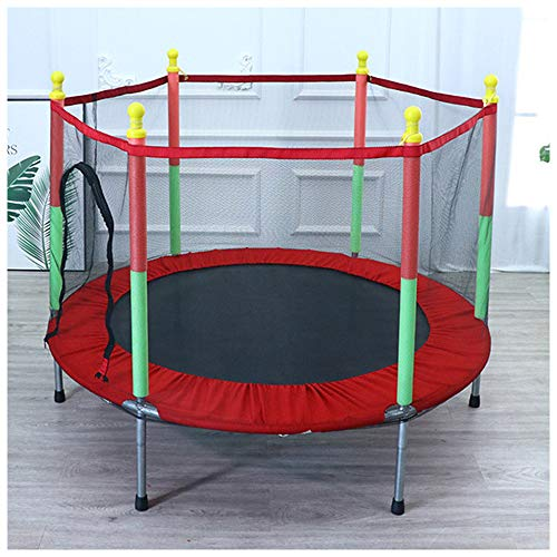GJHYJK Bungee Rebounder para Niños Red Protección Trampolín Cama Inflable para Hogar Deportes Aire Libre Silenciosos Equipo Cardio Y Fitness,Red