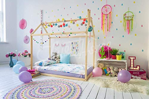 Non-Toxic Montessori Floor bed for Toddlers