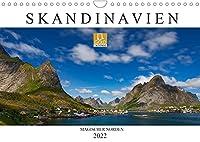 Skandinavien: Magischer Norden (Wandkalender 2022 DIN A4 quer): Spektakulaere Fotografien aus dem Norden Europas (Monatskalender, 14 Seiten )