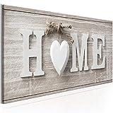 murando - Home Impression sur Toile intissee 90x30 cm Tableau Tableaux Decoration Murale Photo Image Artistique Photographie graphique1 Piece Abstrait Home m-A-0686-b-a