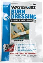 """First Aid Only 4"""" X 4"""" Water Jel Burn Dressing, Sterile (Pack of 3)"""