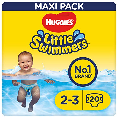 Huggies Little Swimmers S, taille 2–3(3à8kg), 20couches