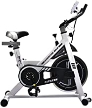 NexHT Fitness Exercise Cycle Bike Indoor Workout Cycling Bike with LCD Monitor& Heart Pulse Sensors,Max User Weight:280lbs,Full Adjustable Health Sport Trainer Stationary Bicycle