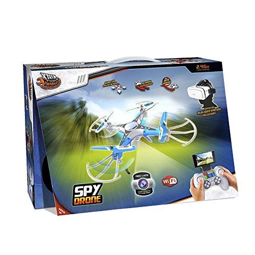 WORLD BRANDS Xtrem Raiders-Spy Drone avec Lunettes 3D