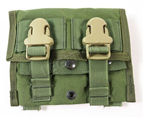 NEW Eagle Industries Triple (3x1) 40MM Grenade Pouch OD Green DF-LCS MOLLE