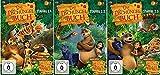 Das Dschungelbuch Staffel 2.1+2.2+2.3 komplette Staffel 2 / Episonden 53-104 [DVD Set]