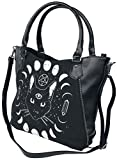 Banned Pentacle Coven Sorcière Lune Alternative Fourre-Tout Sac - Noir, One Size
