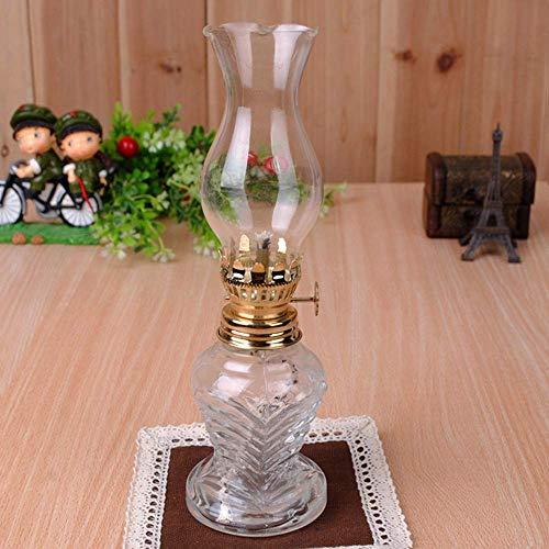 HJJ Luz: innovadora lámpara de vidrio de queroseno de