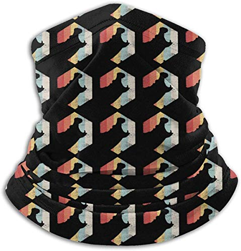 Pao facial para hombre y mujer, compatible con hipoptamo retro, polaina para el cuello, bufanda, bufanda, bufanda