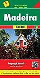 Maderira, mapa de carreteras. Escala 1:40.000. Freytag & Berndt.: Toeristische wegenkaart 1:40 000: AK 9303 (Auto karte)