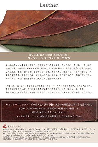 [アビエス]ABIESL.P.日本製ヴィンテージワックスレザー本革名刺入れネイビー