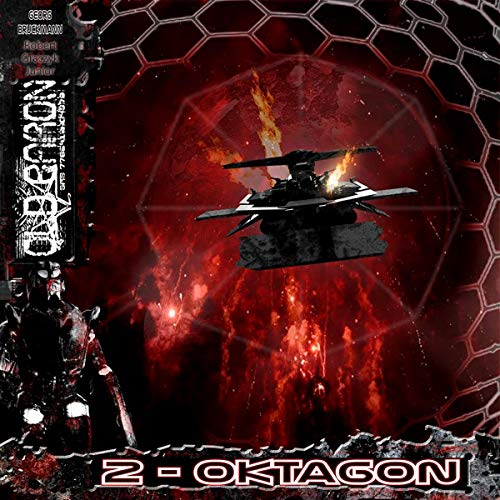 Oktagon audiobook cover art