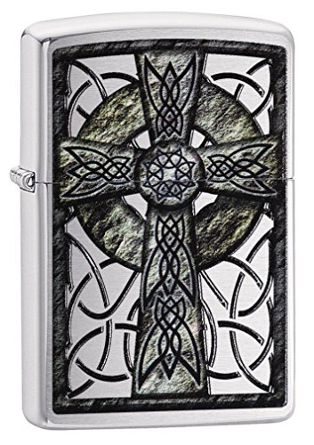 Zippo Celtic Cross Design Lighter