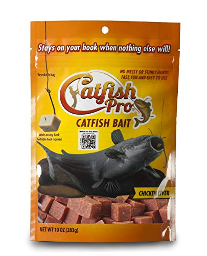 Catfish Pro Chicken Liver Catfish Bait Catches Blues Channels Bullheads Even Flatheads