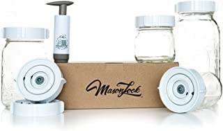 Save Time with the Easy Wide-Mouth Fermenting Kit. Accurately Tracks Start Time 6 Waterless Airlock Fermenter Lids, Pump, User Guide. Ferment Sauerkraut, Pickles and More Fermented Probiotics. No Mold
