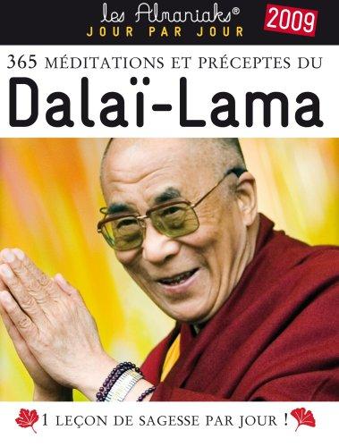 365 méditations et préceptes du Dalaï-Lama 2009