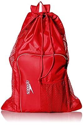 Speedo Deluxe Ventilator Mesh Equipment Bag, Formula One, 1SZ