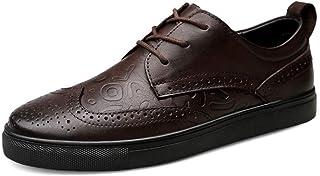 Dingziyue Scarpe da uomo, Scarpe in pelle, Casual Fashion, Scarpe da uomo, Scarpe (Colore: Marrone, Taglia : 46)