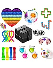 GNGDSK Fidget Toys Pack, Anti-Stress et Anti-Anxiety Fidget Toy Set, Simple Dimple Fidget Toy pour Enfants et Adultes