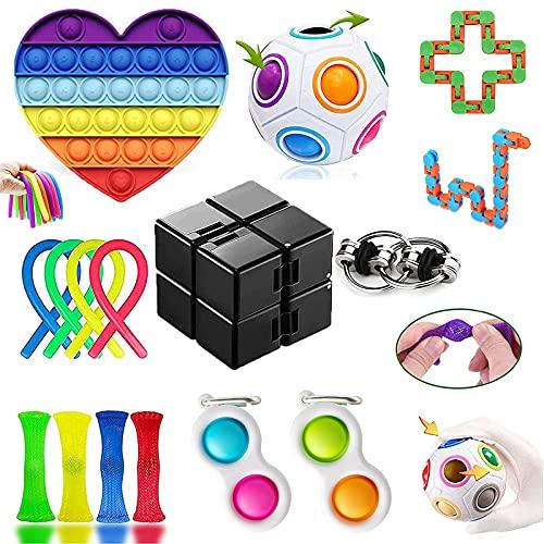 Sensory Fidget Toys Set, Stress ...