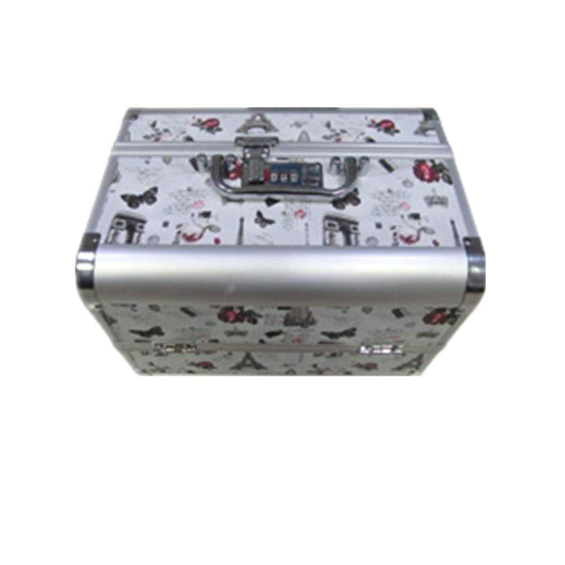 風変わりな迷惑ワーム化粧オーガナイザーバッグ 大容量ポータブル化粧ケース(トラベルアクセサリー用)シャンプーボディウォッシュパーソナルアイテム収納トレイ(エクステンショントレイ付) 化粧品ケース