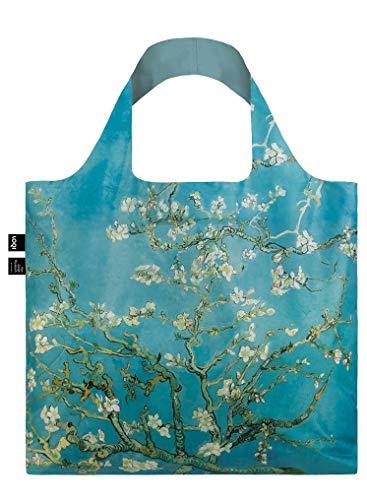 LOQI VAN GOGH Almond Blossom Bag Tote da viaggio, 50 cm, 15 liters, Blu (Almond Blossom)