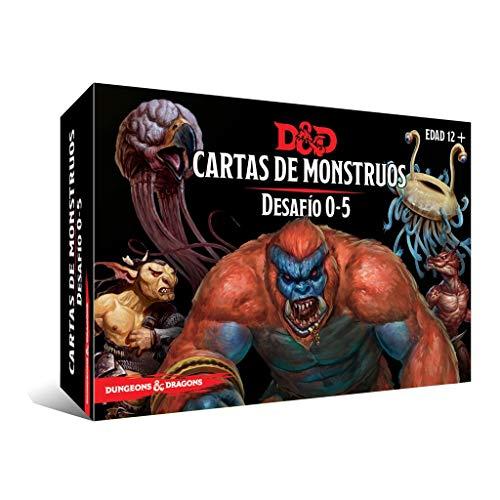 Dungeons & Dragons Cartas de Monstruos. Desafío 0-5, Color (EEWCDD90)
