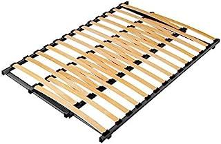 Hévéa Sélection Sommier Cadre à Lattes Extensible de 84 à 156 de Large x 188 cm