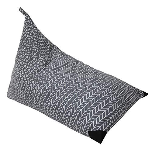 QLPXY Aufbewahrung Soft Toy Sitzsack Stuhl, Große Kapazität Stofftier Spielzeug Organizer Sofa Für Kinder, Jugendliche Und Erwachsene, Nur Cover Bag (grau)