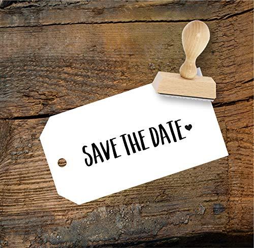Save the date Stempel aus Buchenholz zur Hochzeit, Qualitätsprodukt aus Österreich, perfekt für DIY Wedding
