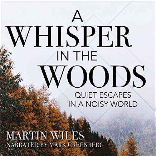 A Whisper in the Woods audiobook cover art