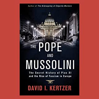 The Pope and Mussolini cover art