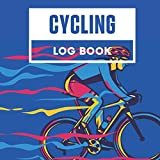 Cycling Log Book: Daily Training Tracker, Square 8.5'x8.5', Cyclist Notebook, Track and Record to Improve Riding Performance, Valuable Keepsake c/w Sketchbook, Graph, Ruled Journal