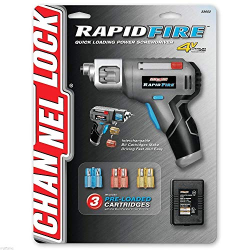 Channellock Rapid Fire Quick Load Power Screwdriver